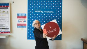 The 'I Voted' Sticker Is Just One Big Psychological Hack