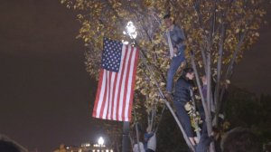 Outside The White House, Fear (And Some Hope) After Trump's Win